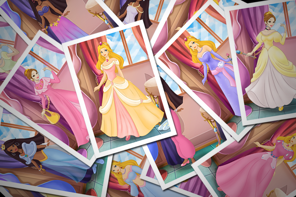 Screenshot iPrincess – A Princess Dress Up and Makeover Game!